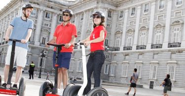 Seeing Madrid on a Segway