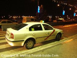 madrid airport - taxi