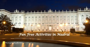Top FIVE FREE Cultural activities in Madrid