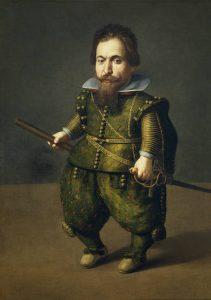 portrait of a dwarf Juan van der Hamen and Leon
