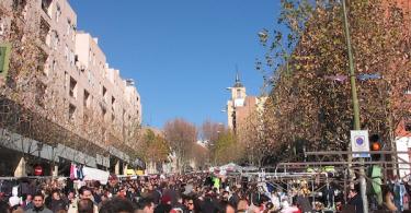 el rastro flea market madrid