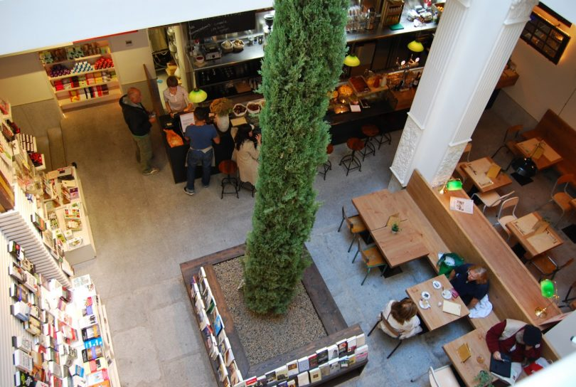 Top 5 Cafe-Bookshops In Madrid