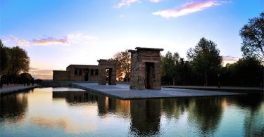 Best Place To Watch The Sunset In Madrid: Temple Of Debod