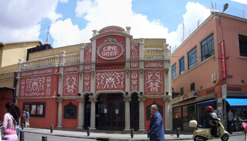 exterior of cine dore in madrid