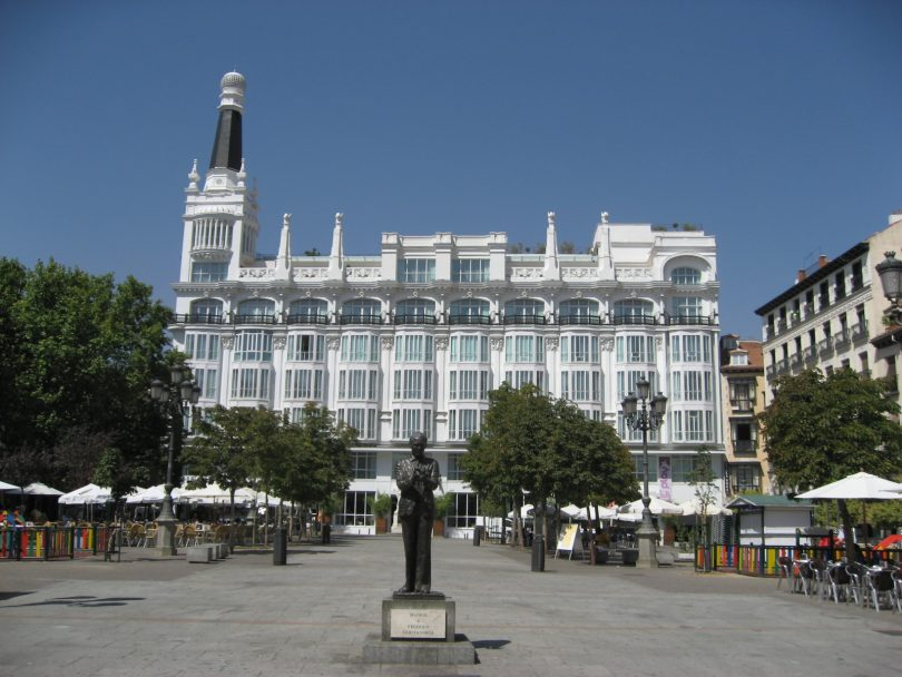 Plaza de Santa Ana in Madrid