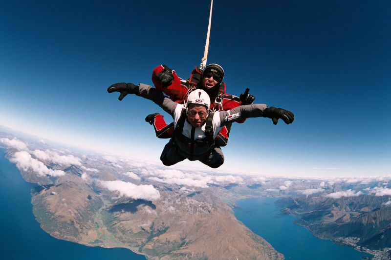 fear and adrenaline junkies Adrenaline jobs: high-intensity careers elka torpey   january 2016 jen sharp understands risk she routinely harnesses first-time skydivers to a parachute system and falls out of an airplane with them.