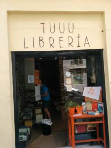 entrance of TuuuLibreria Madrid