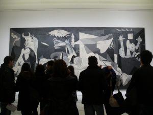 Guernica in Reina Sofia