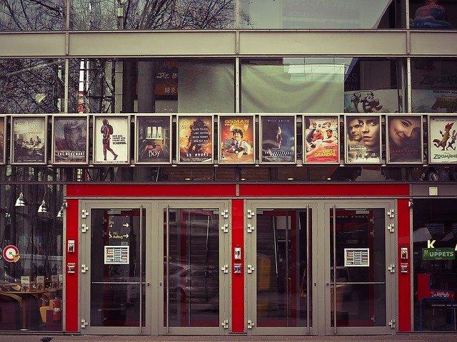 exterior cinema