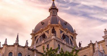 exterior almudena museum madrid