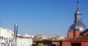 view of Malasaña in Madrid
