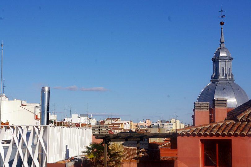 view of Malasaña in Madrid
