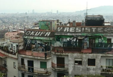 roof of house with squatters