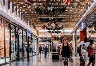 inside shopping mall madrid