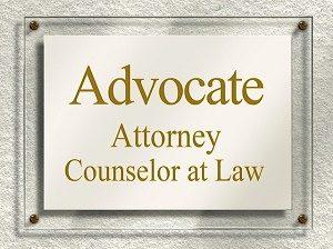 sign on door lawyer