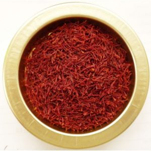bowl with saffron