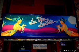 bar La Vía Láctea in Madrid