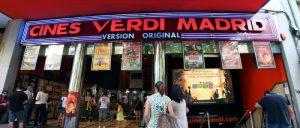 English movies in madrid shmadrid for Cines verdi cartelera