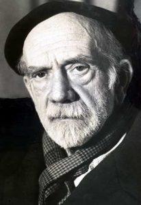 Pío Baroja, illustrous Basque writer greatly admired by Hemingway