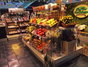 fruit stall at San Anton Market madrid