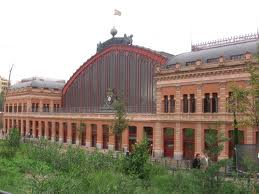 exterior atocha train station madrid
