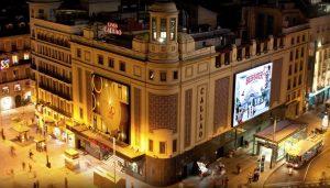exterior of Callao City Lights