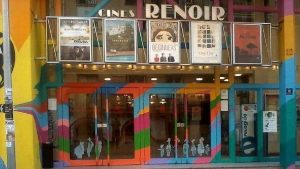 entrance of Cine Renoir Madrid