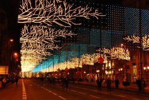 decorations streets of madrid