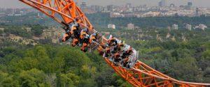 orange rollercoaster