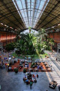 Atocha Botanical garden