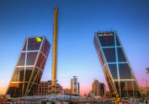 business towers in madrid