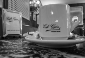 cup of coffee cafe gijon madrid