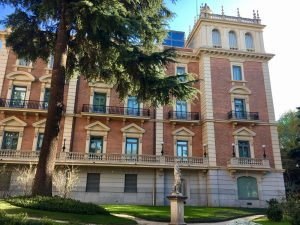 exterior lazaro galdiano museum madrid