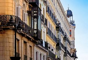 apartment buildings in madrid