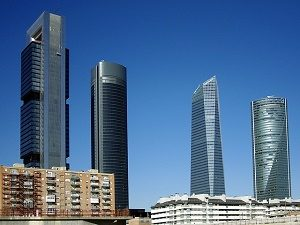 business area in madrid