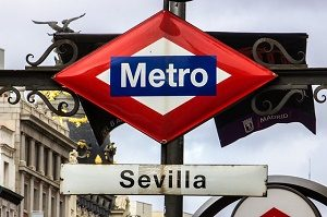 metro station sevilla in madrid