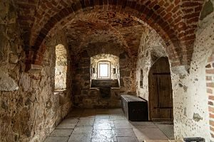 inside castillo de manzanares la real